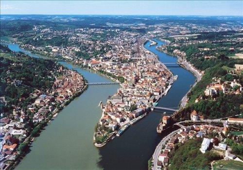 Luftansicht Passau
