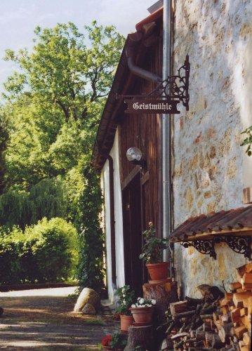 Einfahrt zur Geistmühle