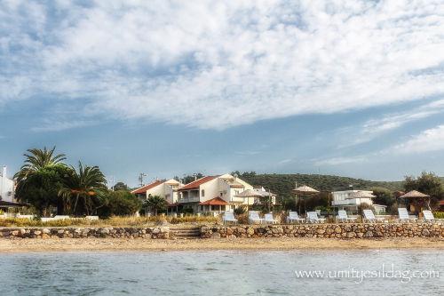 Unser Ferienhaus und Strand