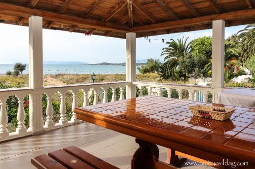 Unser Veranda und Strand