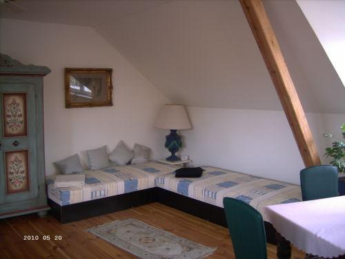 Schlafbereich 2 Einzelbetten