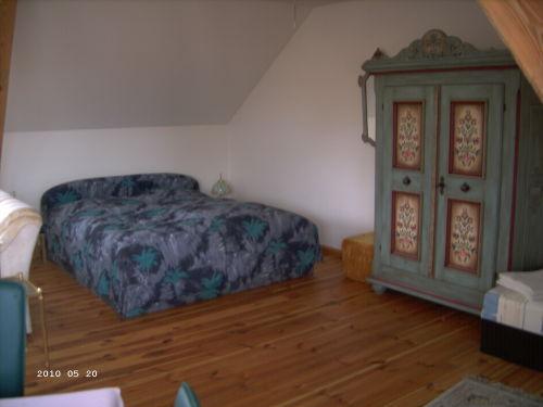 Schlafbereich 1 Doppelbett