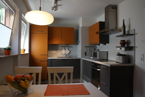 Küche mit Eßplatz für 4 Personen