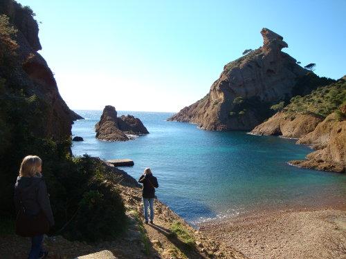 Figuerolles-Bucht ca 8 min zu Fuss