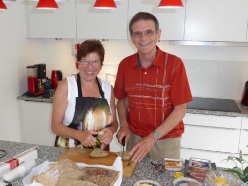 Ihre Gastgeber: Ingrid und Hansjörg