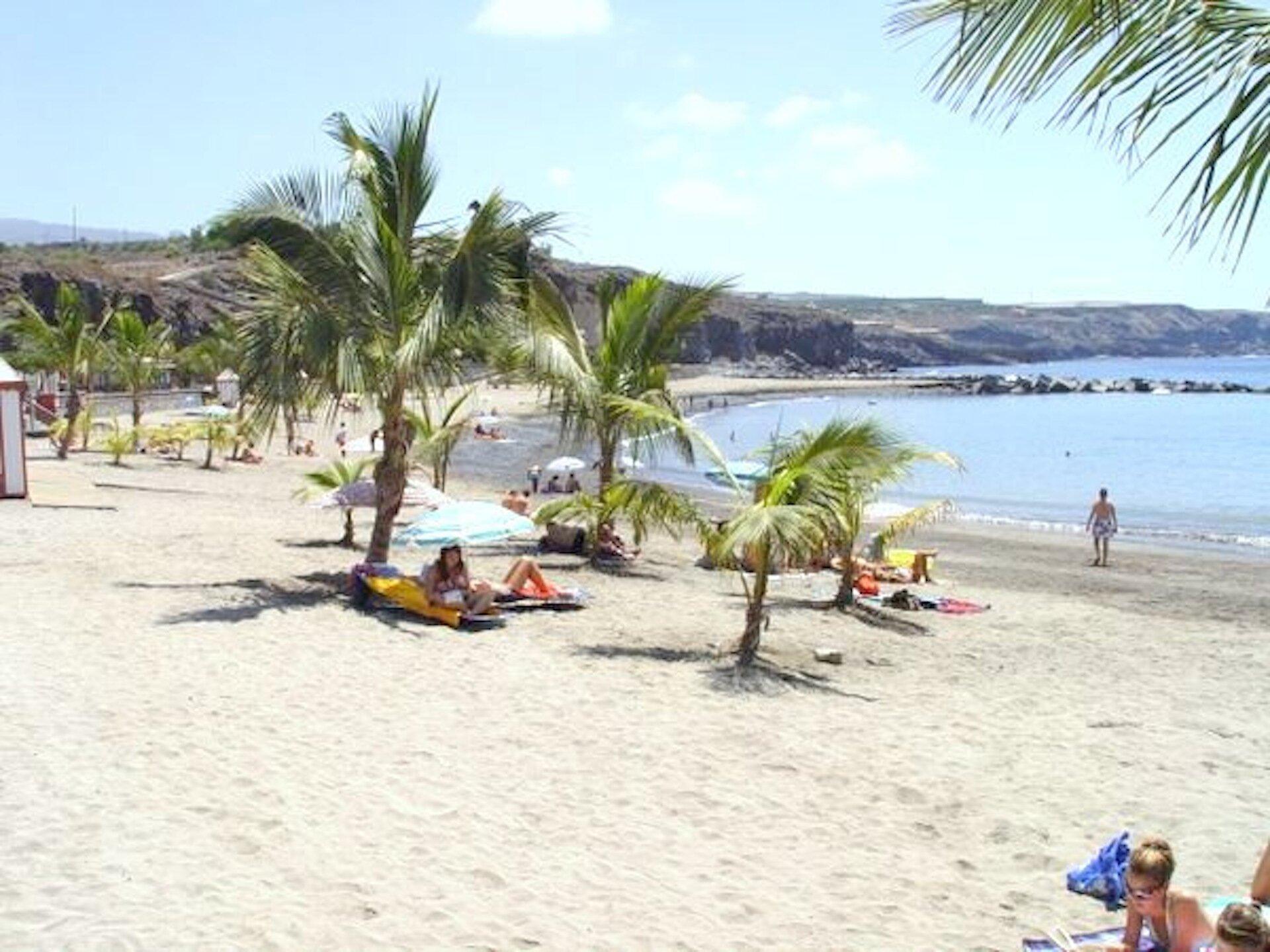der Strand von Playa San Juan