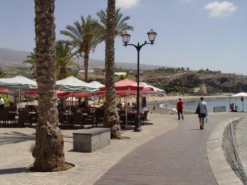 Promenade zum Strand