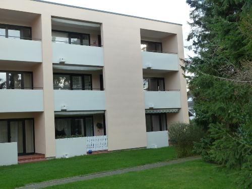 R�ckfront Balkon re aussen/Hochparterre