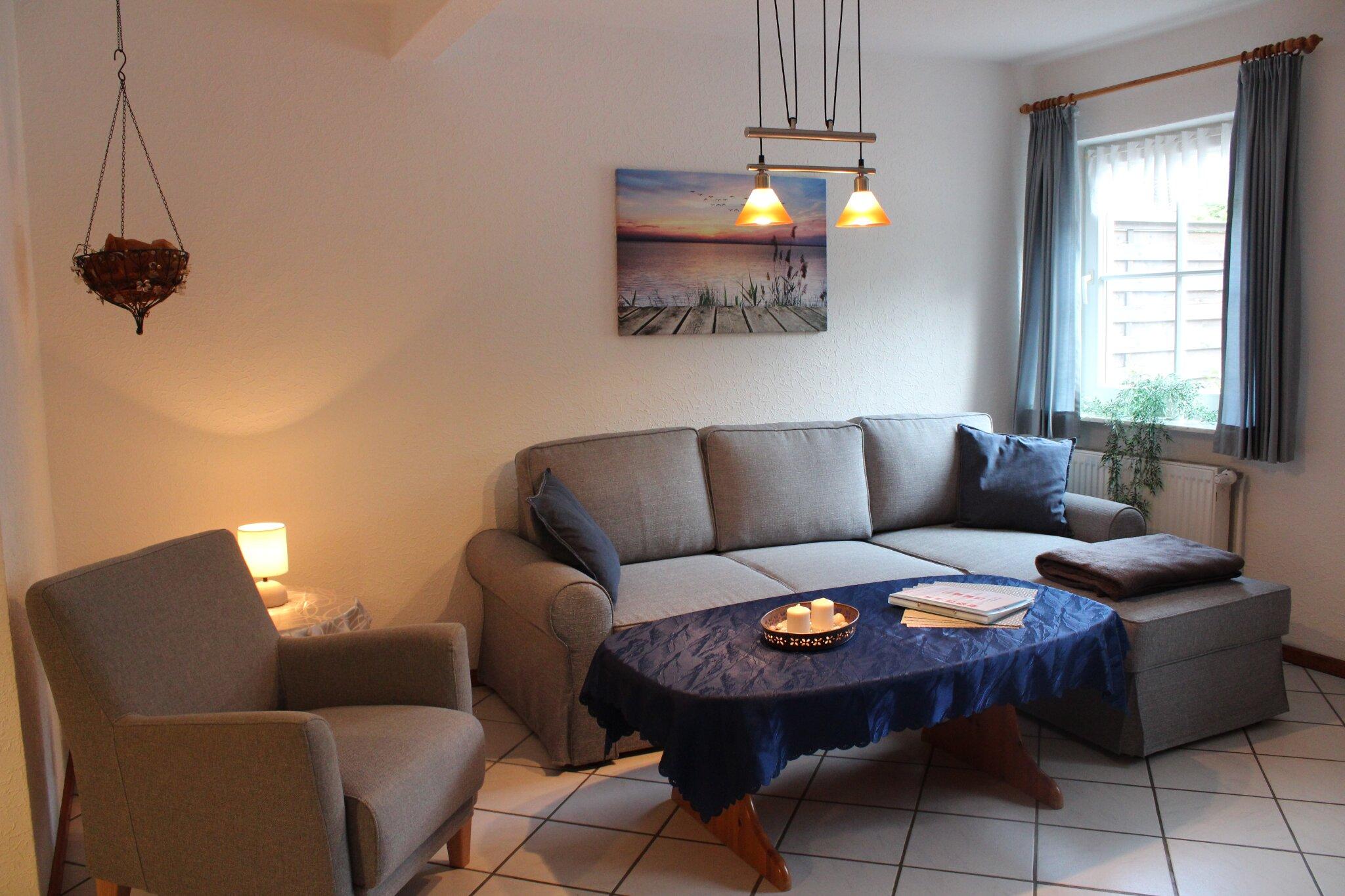 Wohnzimmer M�weninsel