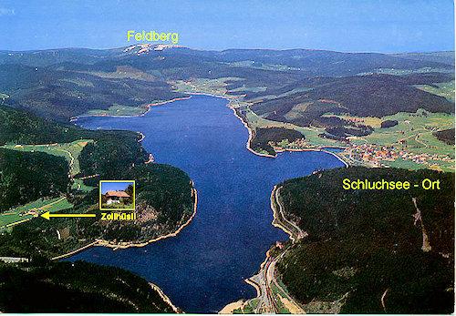 Umgebung von Altes Zollhuesli - Ferienwohnung Karlshorst