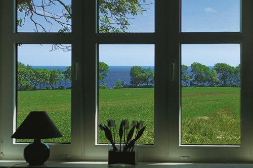 Blick vom Sofa auf die Ostsee