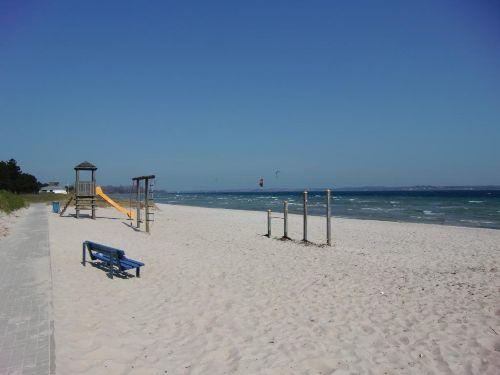 feinsandig wie Karibik - Strand Holnis