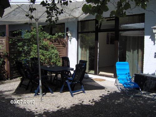 Die Terrasse mitten im Gr�nen, Wohnung 2