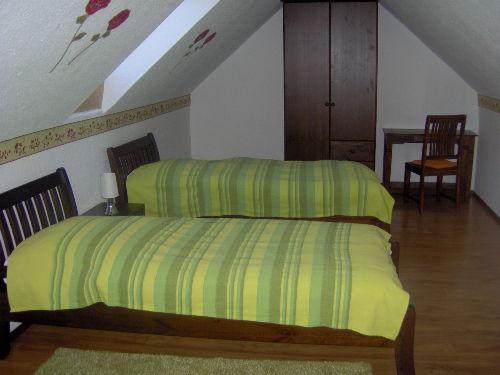 Dachgeschoss-Schlafzimmer, Whg. 3