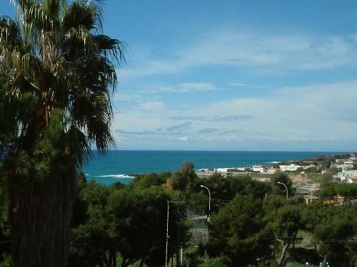 Die Aussicht von der Villa