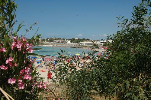 Strand von Marina di Pulsano