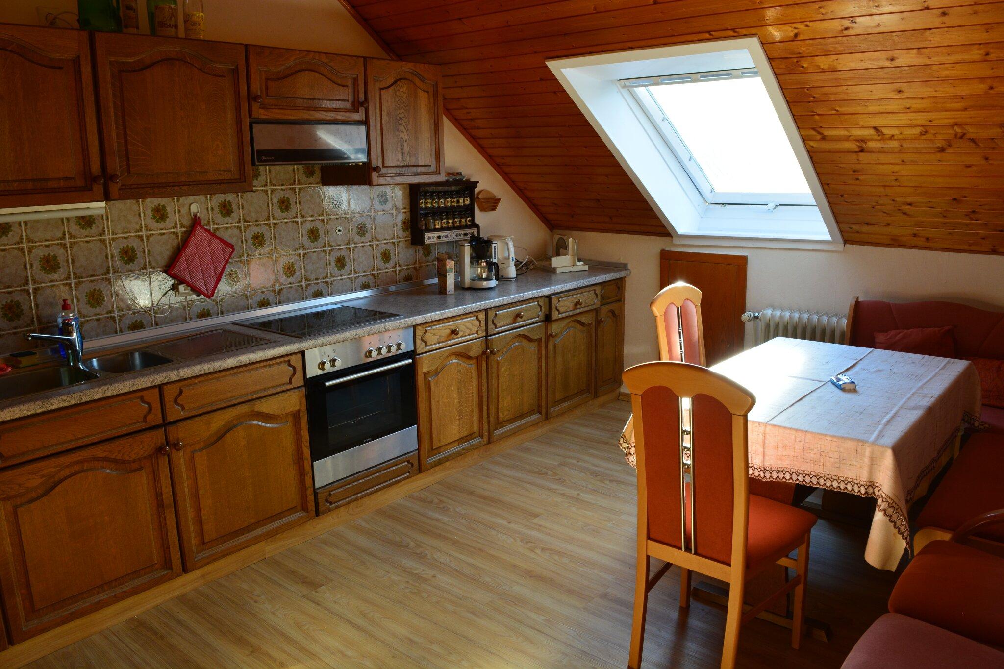 moderne Küche/Esszimmer