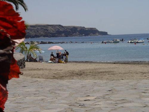 Der Strand im Ort
