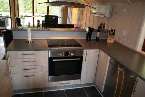 Die moderne Küche, wie zu Haus nix fehlt