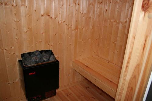 und die Sauna