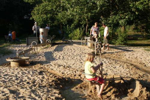 Wasser- und Abenteuerspielplatz