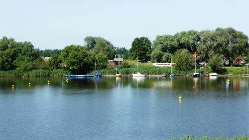Blick auf den Gartower See