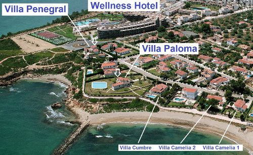 Villa Paloma exklusive Lage