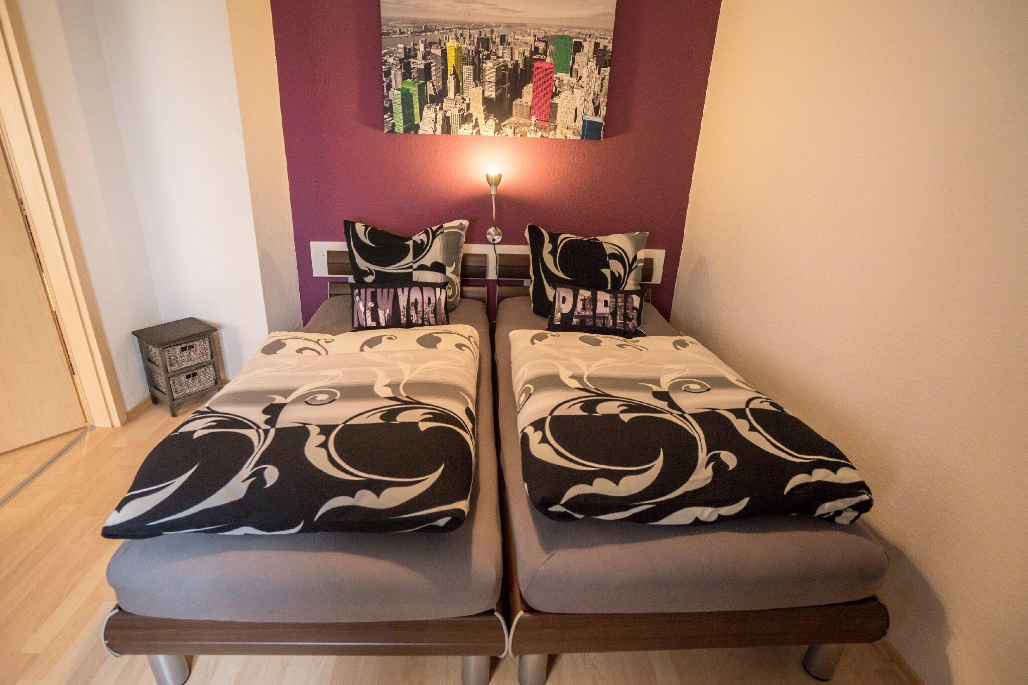 Ferienwohnung 1, Schlafzimmer