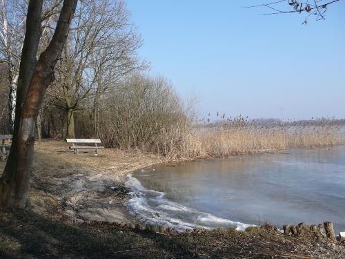 Winter am Woblitzsee