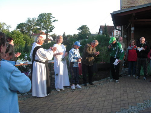 Lilienfest mit Siegerehrung Lilienlauf