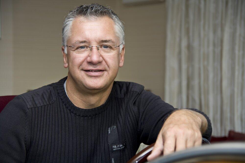 Geschäftsführer Günter Großmann