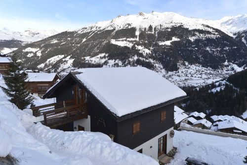 Winter in Grimentz