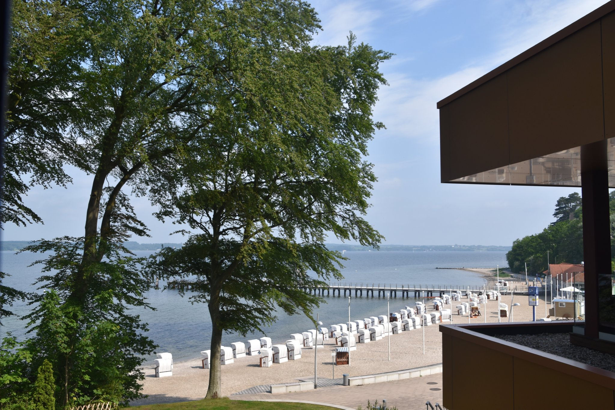 Ausblick vom Apartment Fjordblick