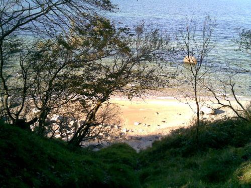 Der Strand am Bakenberg