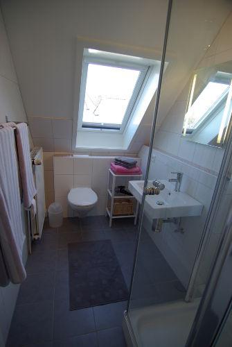 Alles neu - Duschbad mit Glasdusche...