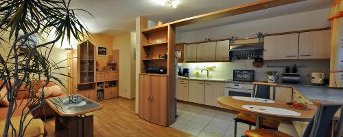 Blick auf Küche (offen)