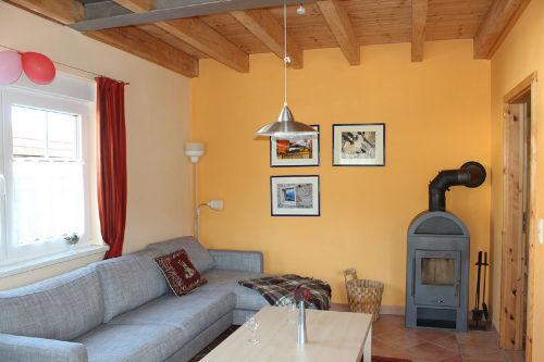Wohnbereich mit Kaminofen