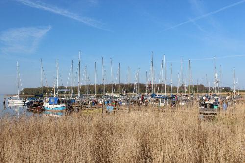 Der Hafen in Rerik