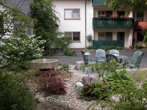 Ruheplatz in der Hofanlage