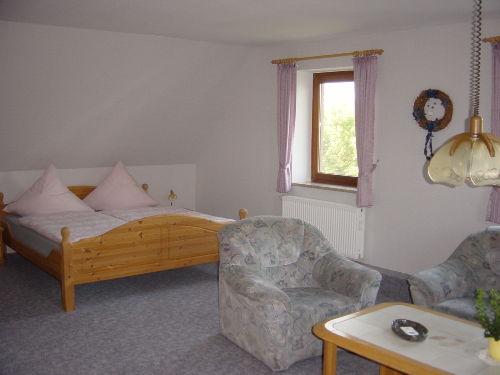 Wohn-/Schlafbereich Apartment (Beispiel)