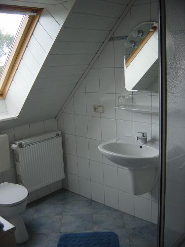 Dusche/WC Apartment (Beispiel)