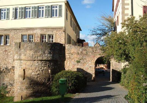 Turm und Tor Altstadt Marbach