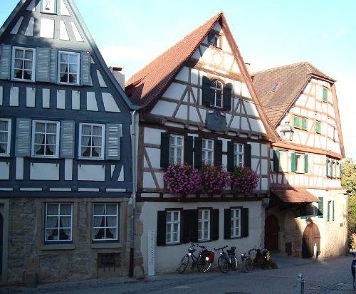 Schiller´s Geburtshaus in Marbach