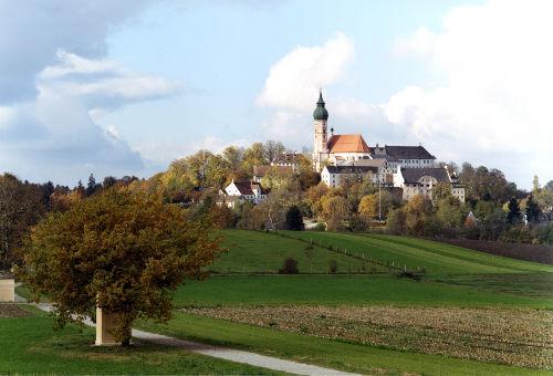 Kloster und Brauerei Andechs