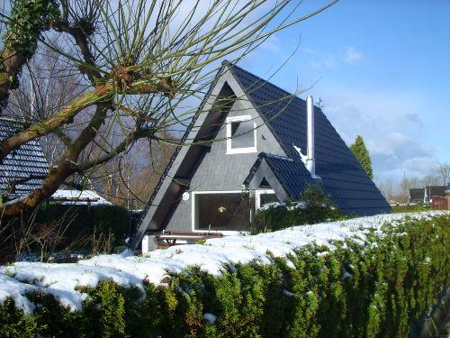 Haus Eulennest im Winter