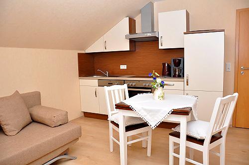 Ferienwohnung Kornblume (Küchenbereich)