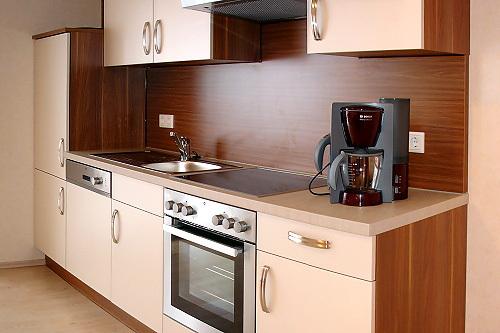 Ferienwohnung Rotklee (Küchenbereich)