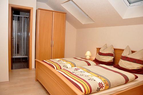 Ferienwohnung Rotklee (Schlafzimmer)