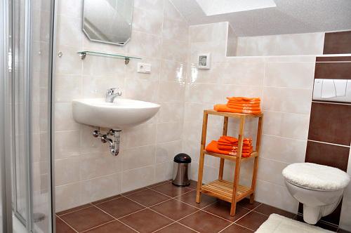 Ferienwohnung Rotklee (Dusche/WC)