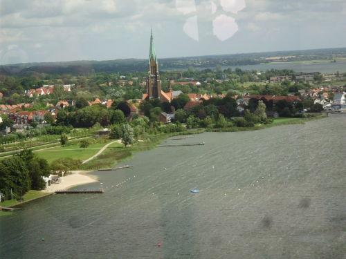Blick vom Wikingturm auf den Dom